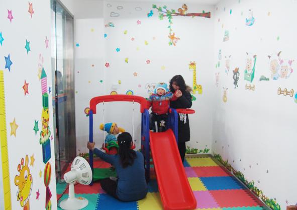 增设儿童乐园